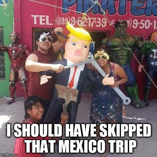 I SHOULD HAVE SKIPPED THAT MEXICO TRIP | made w/ Imgflip meme maker