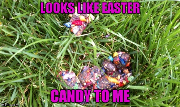 LOOKS LIKE EASTER CANDY TO ME | made w/ Imgflip meme maker
