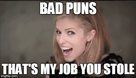 BAD PUNS THAT'S MY JOB YOU STOLE | made w/ Imgflip meme maker