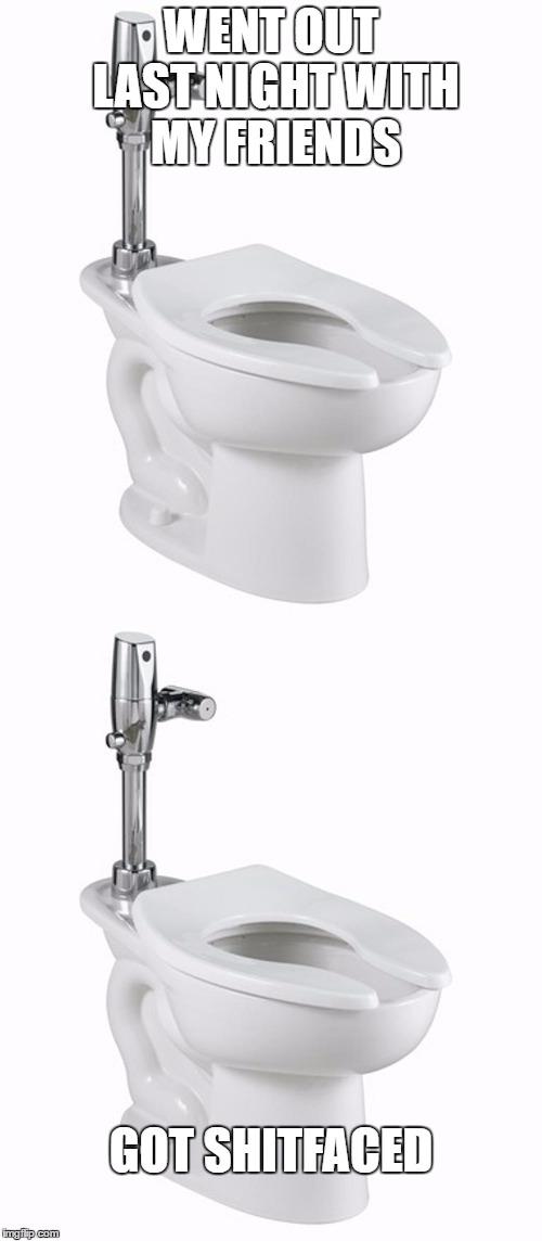 Bad Pun Toilet Imgflip Stunning Bathroom Puns