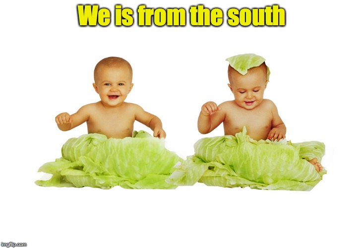 We is from the south | made w/ Imgflip meme maker