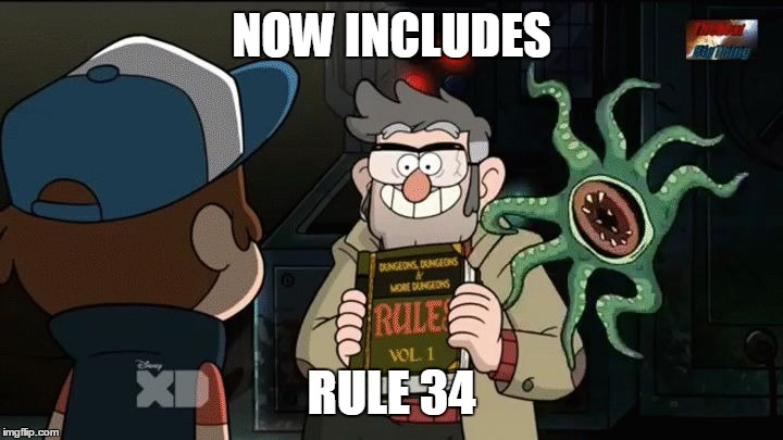 Now Includes Rule 34 Image Tagged In Ford Pinesgravity Fallsfunny