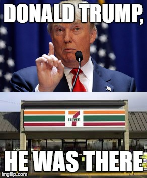 12qrgi donald trump was very emotional at 7 11 imgflip