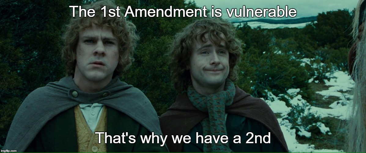 I certainly can't trust the government to protect it ...