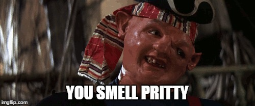 where's my elephant  | YOU SMELL PRITTY | image tagged in memes,goonies,raydog | made w/ Imgflip meme maker