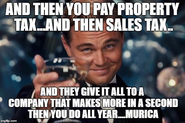 Property Tax Sucks