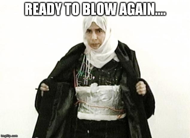 READY TO BLOW AGAIN.... | made w/ Imgflip meme maker