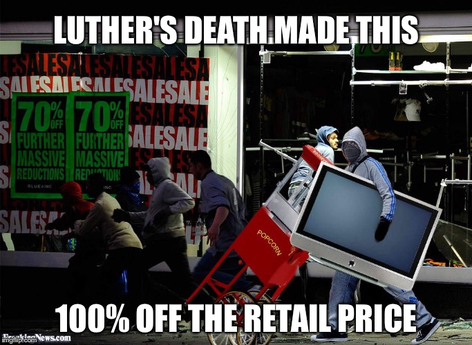 LUTHER'S DEATH MADE THIS 100% OFF THE RETAIL PRICE | made w/ Imgflip meme maker