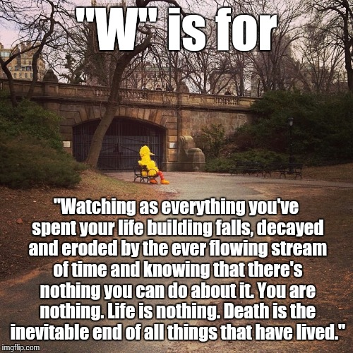 """S"" is for ""spinoff of a meme I saw online"" 