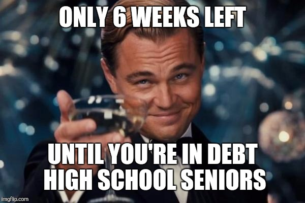Image result for high school seniors memes