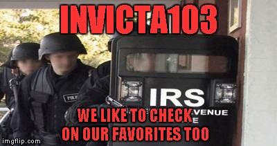 INVICTA103 WE LIKE TO CHECK ON OUR FAVORITES TOO | made w/ Imgflip meme maker