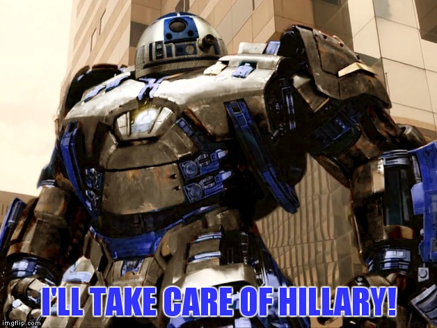 I'LL TAKE CARE OF HILLARY! | made w/ Imgflip meme maker