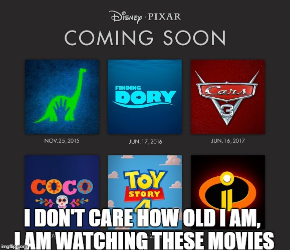 131bqr image tagged in disney,cars,toy story,the incredibles,coco,finding,Dory Meme Maker