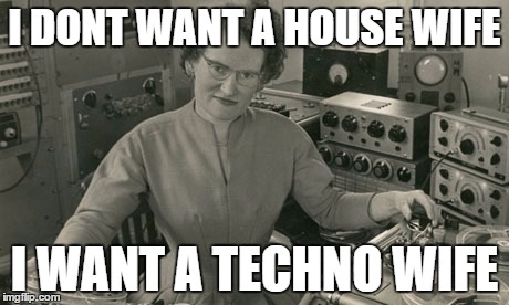I don't want a house wife, I want a Techno wife | I DONT WANT A HOUSE WIFE I WANT A TECHNO WIFE | image tagged in techno,house,wife | made w/ Imgflip meme maker