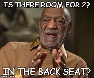 IS THERE ROOM FOR 2? IN THE BACK SEAT? | made w/ Imgflip meme maker