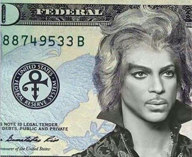 Prince Twenty Dollar Bill Blank Template - Imgflip
