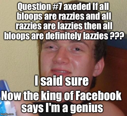 1345r1 not everyone can pass a facebook iq test imgflip