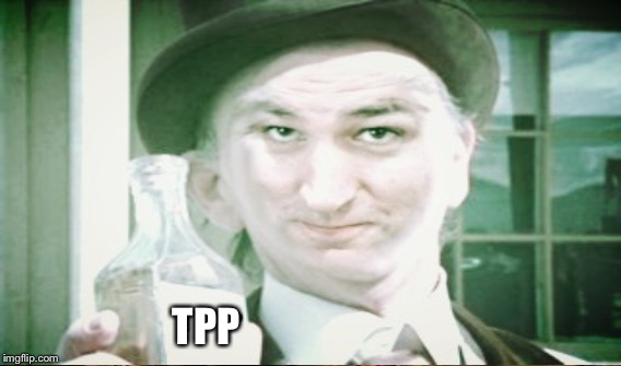 Snake Oil Ted | TPP | image tagged in snake oil,ted cruz | made w/ Imgflip meme maker