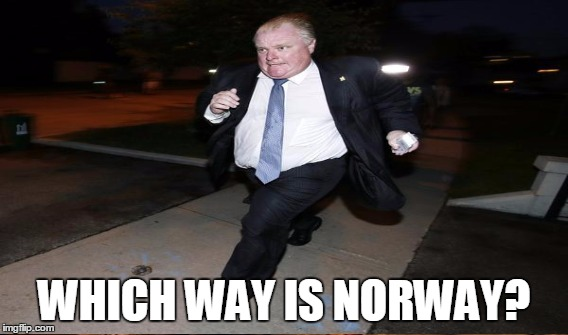 WHICH WAY IS NORWAY? | made w/ Imgflip meme maker