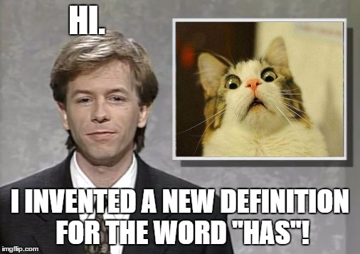 "David Spade: Hollywood Minute | HI. I INVENTED A NEW DEFINITION FOR THE WORD ""HAS""! 