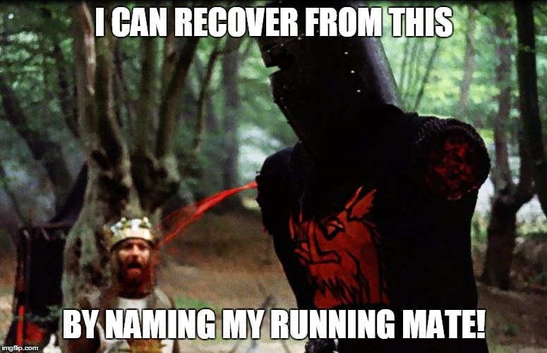 Monty Python Black Knight Meme Generator Imgflip