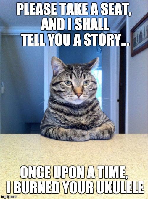 Funny Meme Stories : I shall tell you about your ukulele imgflip