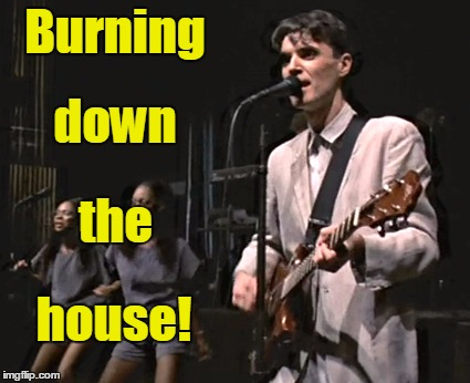 Burning house! down the | made w/ Imgflip meme maker
