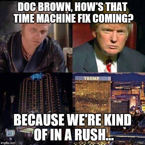doc brown time machine