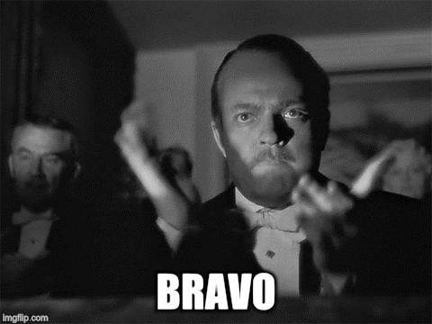 clapping | BRAVO | image tagged in clapping | made w/ Imgflip meme maker