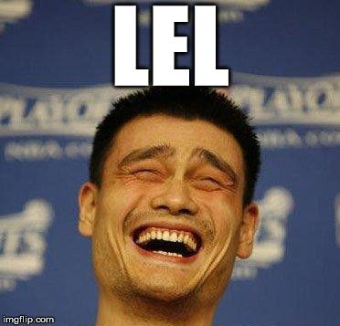 yao ming laughing imgflip