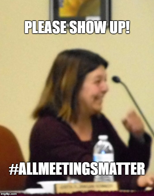 WHY DO THEY CALL IT A MEETING OF THE WHOLE? | PLEASE SHOW UP! #ALLMEETINGSMATTER | image tagged in school committee,subcommittee,meeting | made w/ Imgflip meme maker