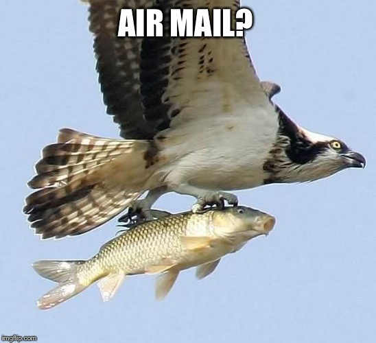 AIR MAIL? | made w/ Imgflip meme maker