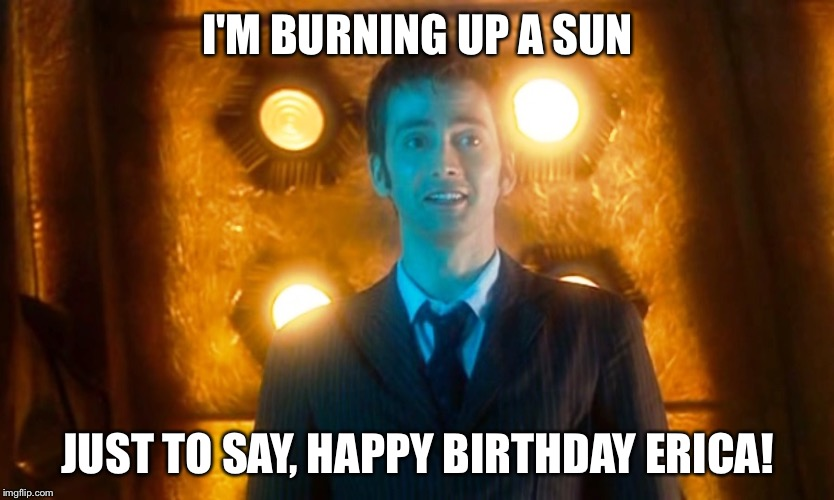happy birthday doctor who Doctor Who Happy Birthday   Imgflip happy birthday doctor who