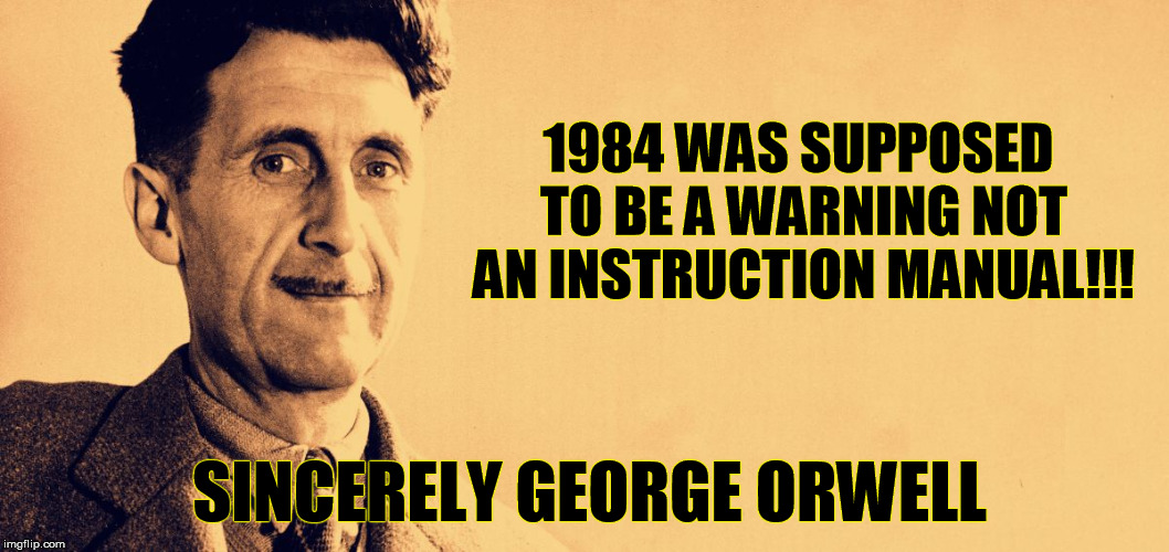 A final warning from George Orwell    YouTube      George Orwells WARNING has come to life