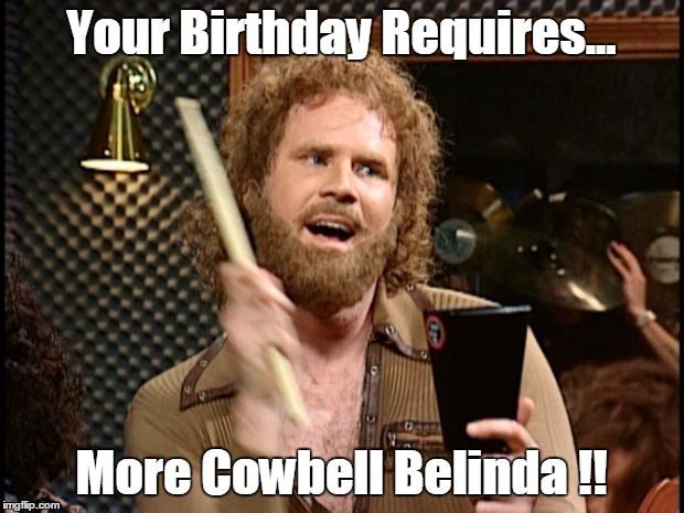 Will Ferrell Cow Bell Meme Generator Imgflip
