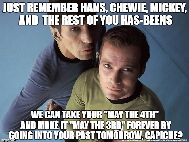"""May the Third"" Forever 