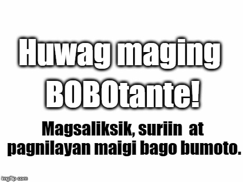 Image result for bobotante meme