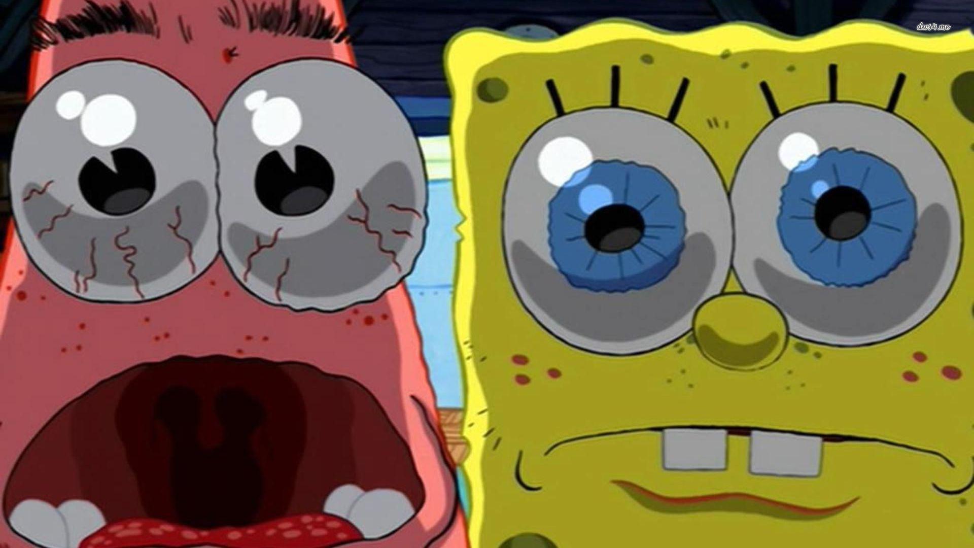 Spongebob and patrick meme template