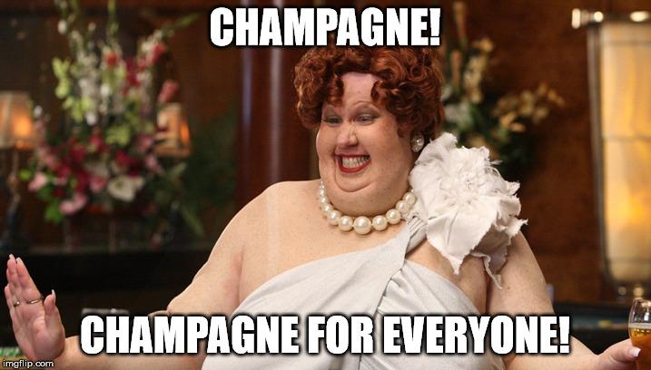 Afbeeldingsresultaat voor gif champagne for everyone