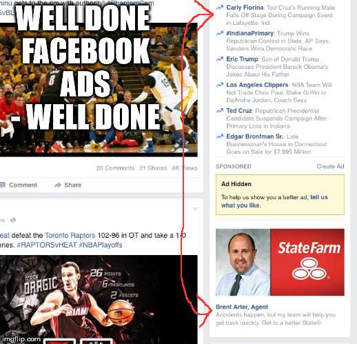 Everything Saw This Image On My Facebook Feed Is It: Saw This On My News Feed. Normally, I Don't Like Ads, But