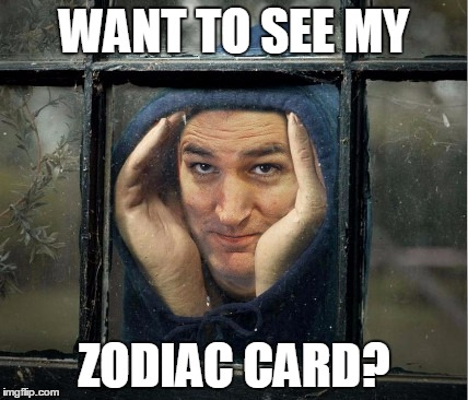 WANT TO SEE MY ZODIAC CARD? | made w/ Imgflip meme maker