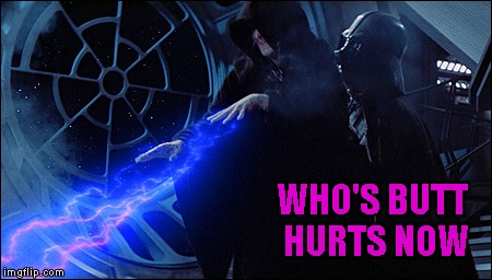WHO'S BUTT HURTS NOW | made w/ Imgflip meme maker