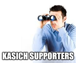 KASICH SUPPORTERS | made w/ Imgflip meme maker