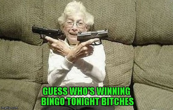 GUESS WHO'S WINNING BINGO TONIGHT B**CHES | made w/ Imgflip meme maker