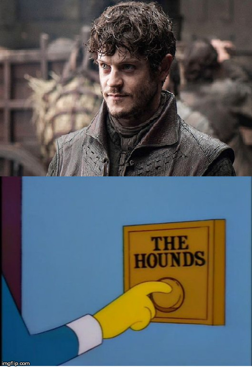 Ramsay's Response | image tagged in ramsay response,game of thrones,ramsay bolton,simpsons,mr burns,not okay | made w/ Imgflip meme maker