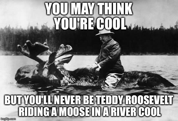 13r1gx teddy roosevelt on a moose imgflip