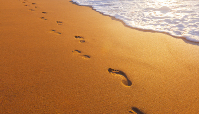 13r2yt footprints in the sand blank template imgflip