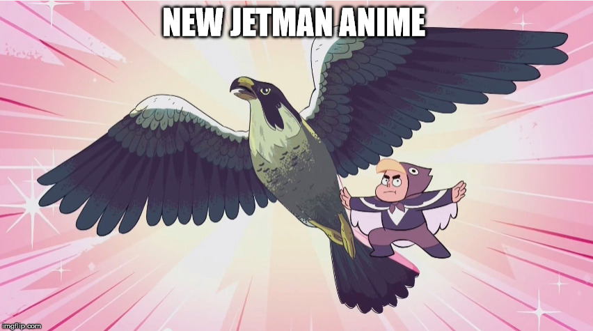 New Jetman Anime  | NEW JETMAN ANIME | image tagged in jetman,steven universe,super sentai | made w/ Imgflip meme maker