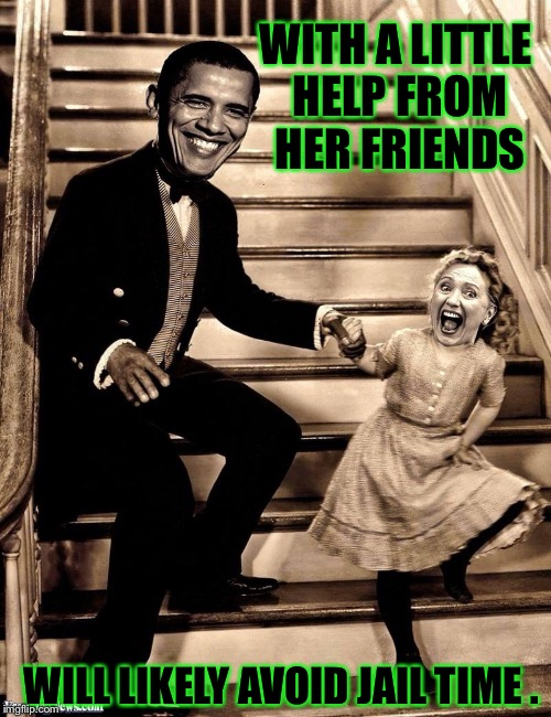 WITH A LITTLE HELP FROM HER FRIENDS WILL LIKELY AVOID JAIL TIME . | made w/ Imgflip meme maker