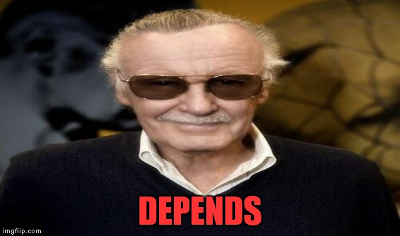 DEPENDS | made w/ Imgflip meme maker